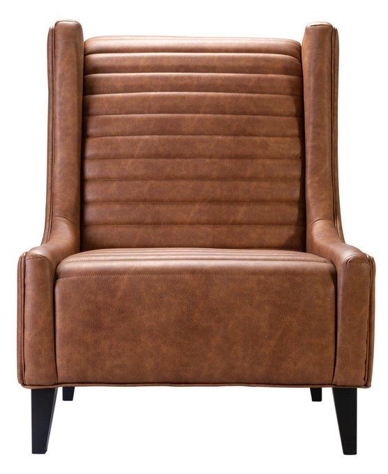 Кресло Loft Рэбел Браун на каркасе из массива бука