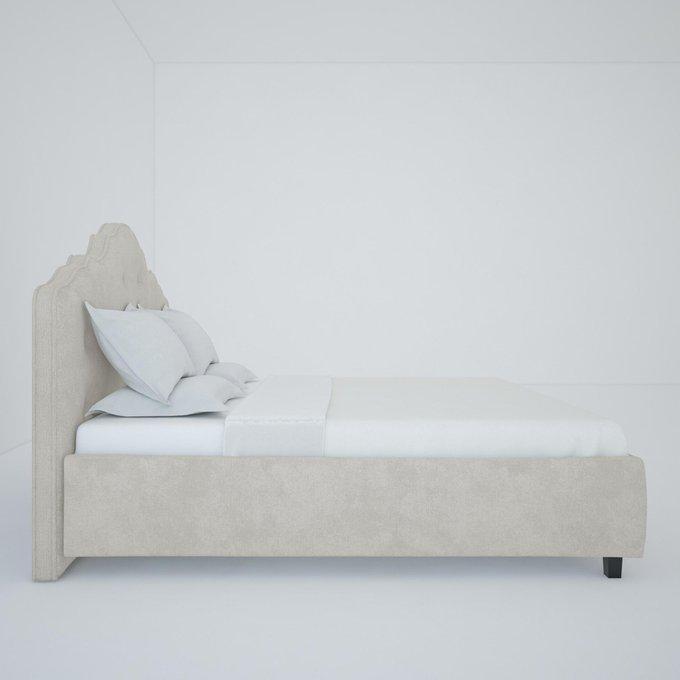 Кровать Palace светло-бежевого цвета 160х200