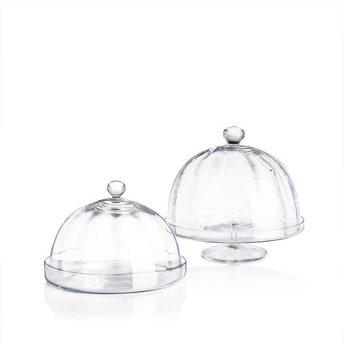 Блюдо с куполом Optical Dome