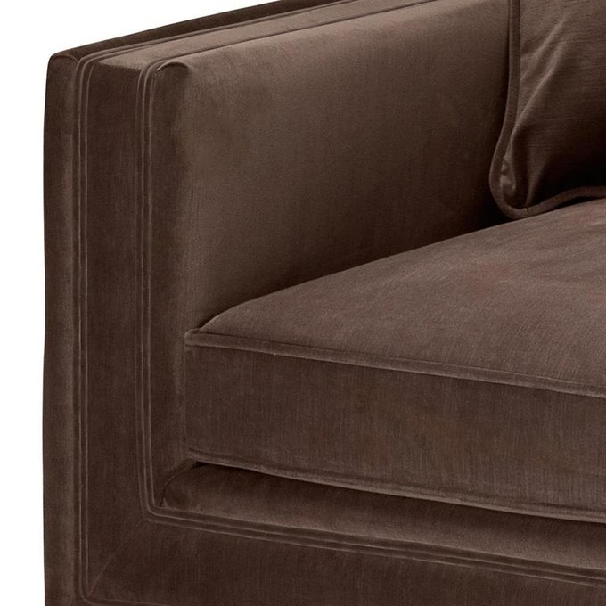 Кресло Menorca коричневого цвета