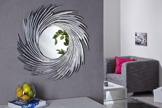 Настенное Зеркало-солнце Cyclone