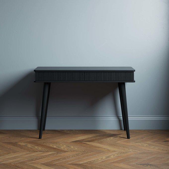 Письменный стол Viva 100х60 черного цвета