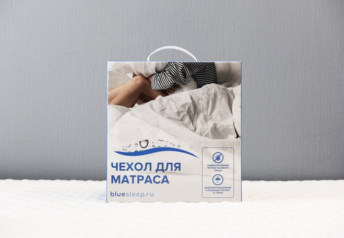 Чехол защитный на матрас с мембраной 140х200