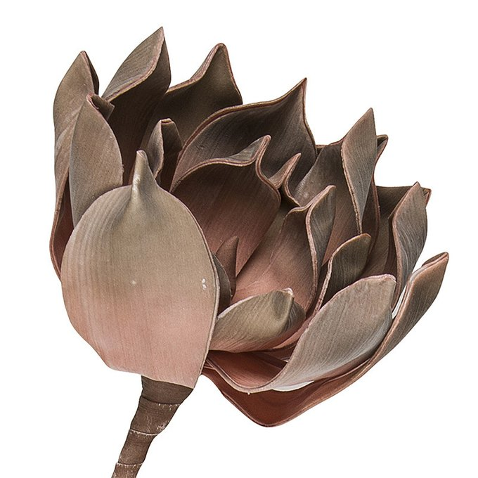 Искусственный цветок Enea бронзового оттенка