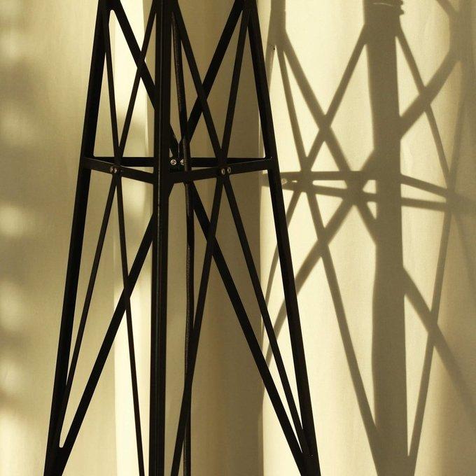 Металлический торшер башня Атон