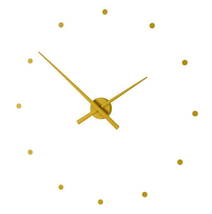 Настенные часы OJ Mustard горчичного цвета