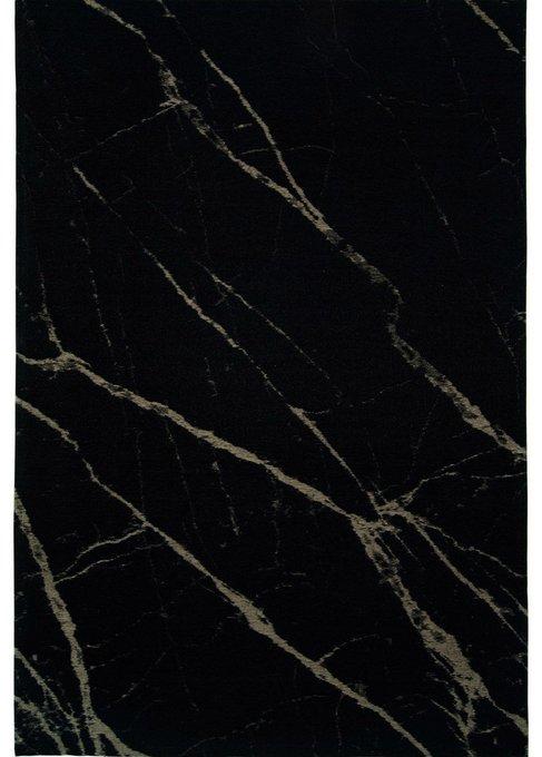 Ковер Pietra Black Honey теплого черного цвета 160х230