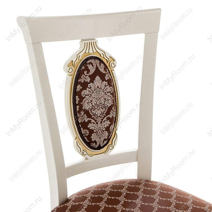 Обеденный стул Лино с патиной