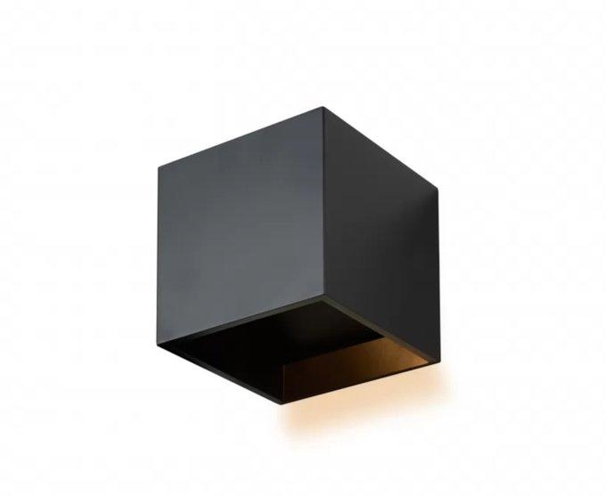 Настенный светильник Dice черного цвета
