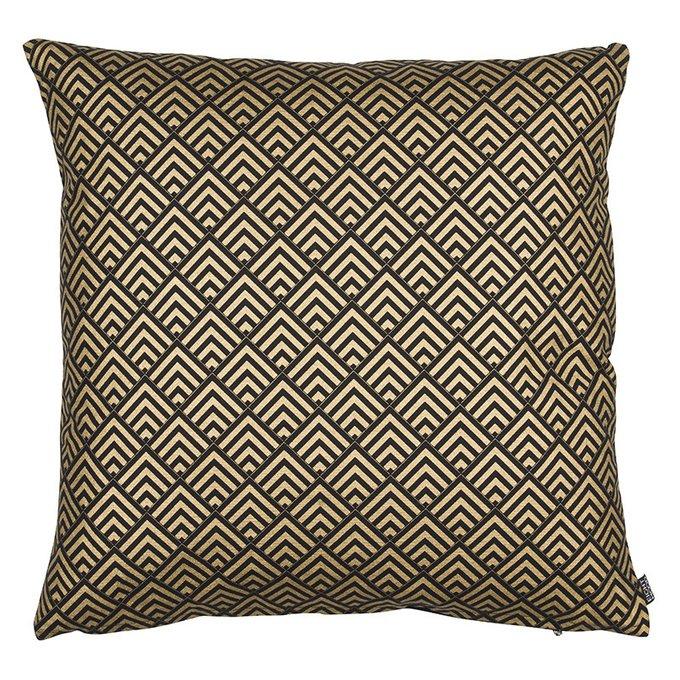 Золотистая декоративная подушка Gatsby 50х50