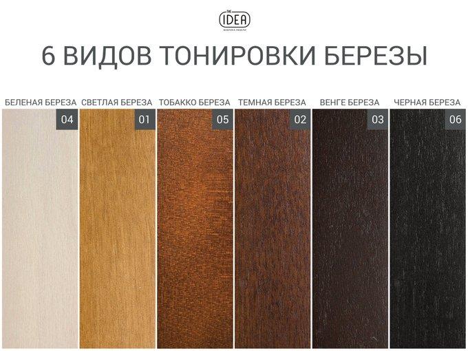 Кровать Tulip коричневого цвета 180х200