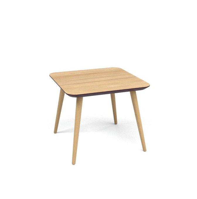 Журнальный стол Scale Quadro выбеленный дуб+эмаль