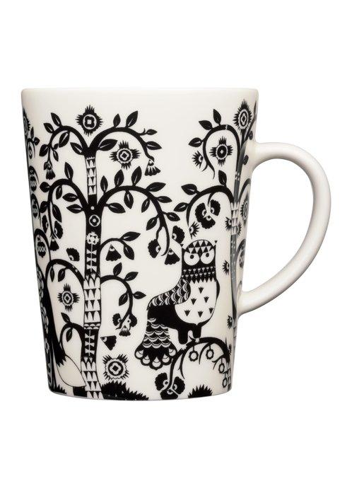 Чашка Taika черно-белого цвета