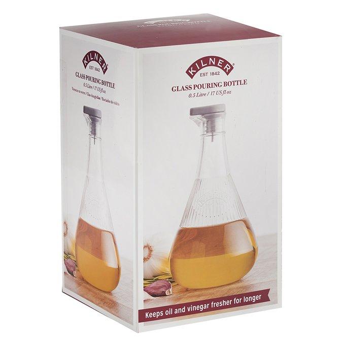Бутылка для масла  из стекла
