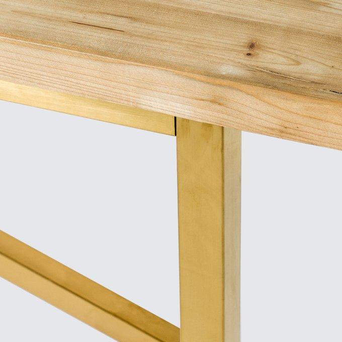 Обеденный стол Мэтр из массива ели
