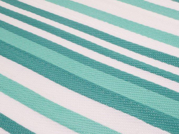 Коврик Stripes зелено-голубого цвета 120х180