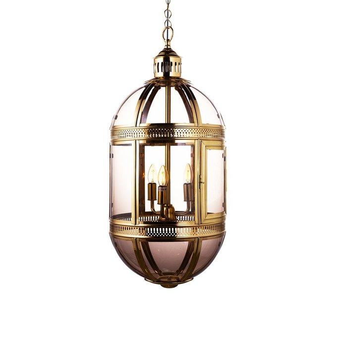 Подвесная люстра Residential Lerne из металла и стекла