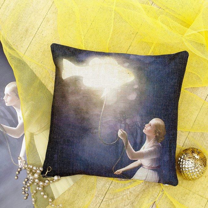 Декоративная подушка «Золотая рыбка»