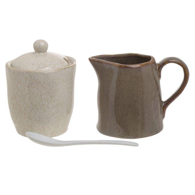 Десертный набор из сахарницы и молочника