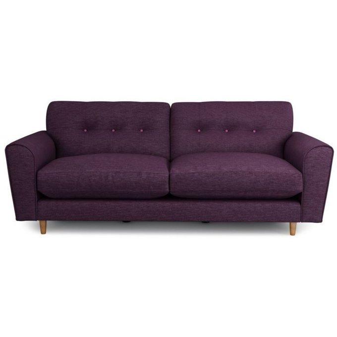 Трехместный раскладной диван Arden SFR фиолетовый