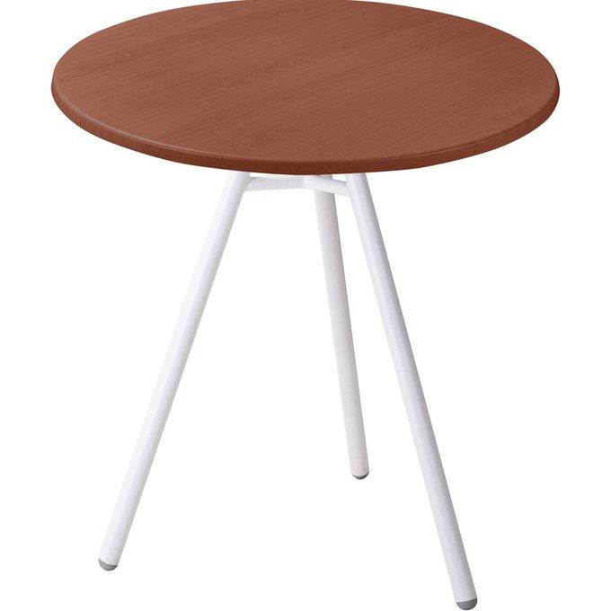 Обеденный стол Март nut со столешницей коричневого цвета