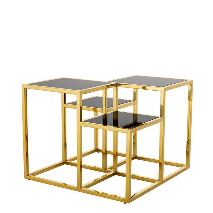 Приставной столик Smythson со стеклянной столешницей