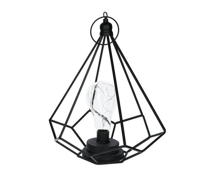 Настольный светильник черный