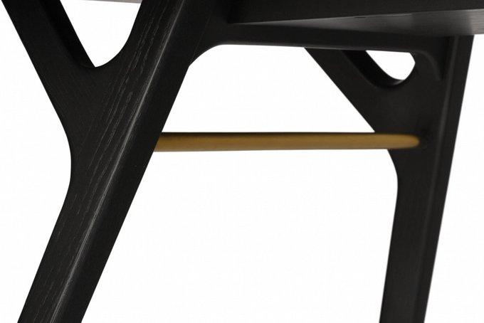 Стол обеденный Ren черного цвета