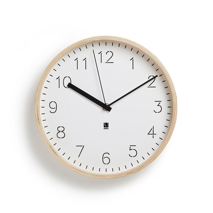 Часы настенные Umbra rimwood