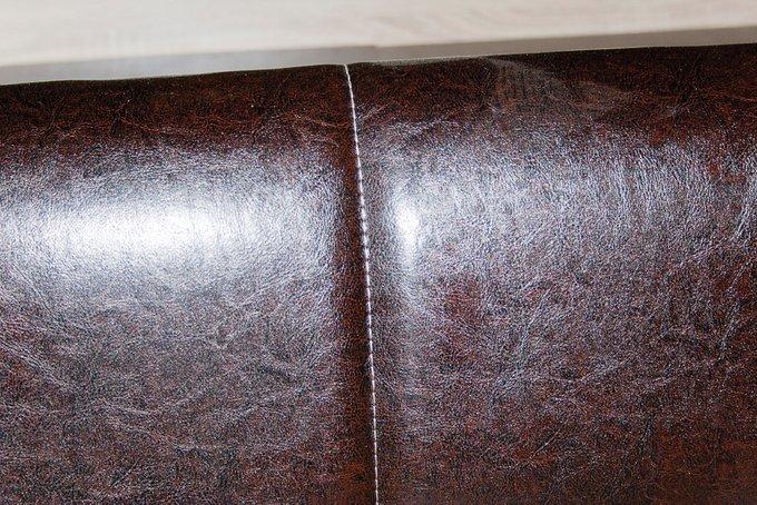 Кровать Келли с ортопедическим основанием цвета дуб сонома/иск.кожа 160х200