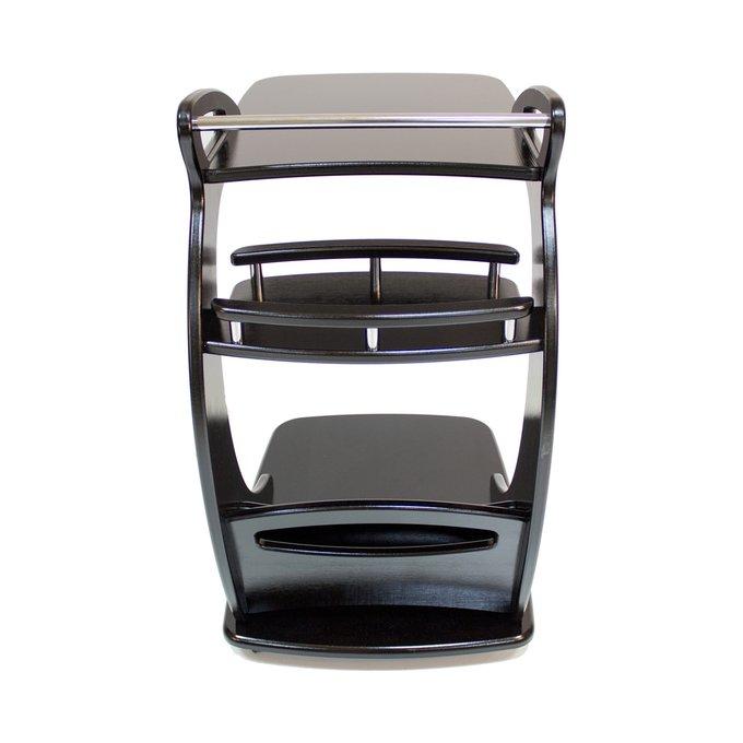 Подкатной столик Фаворит на колесиках  венге