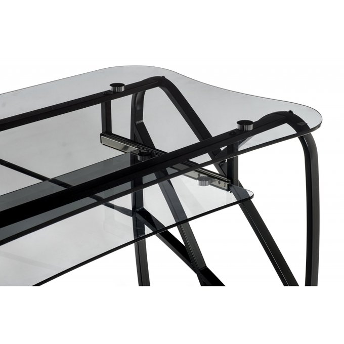 Компьютерный стол Ran черного цвета