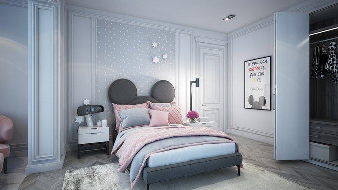 Кровать Mickey Mouse 90х200