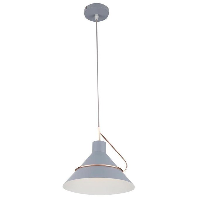 Подвесной светильник Amis серого цвета