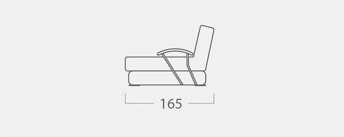 Угловой диван-кровать Дудинка Galaxy темно-бежевого цвета