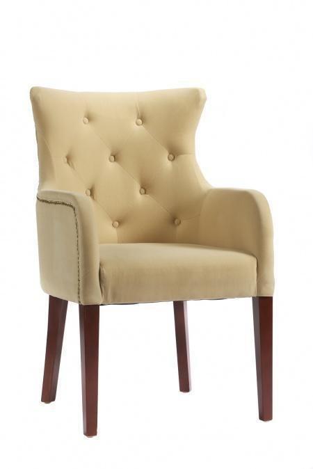 Кресло Rochester молочного цвета