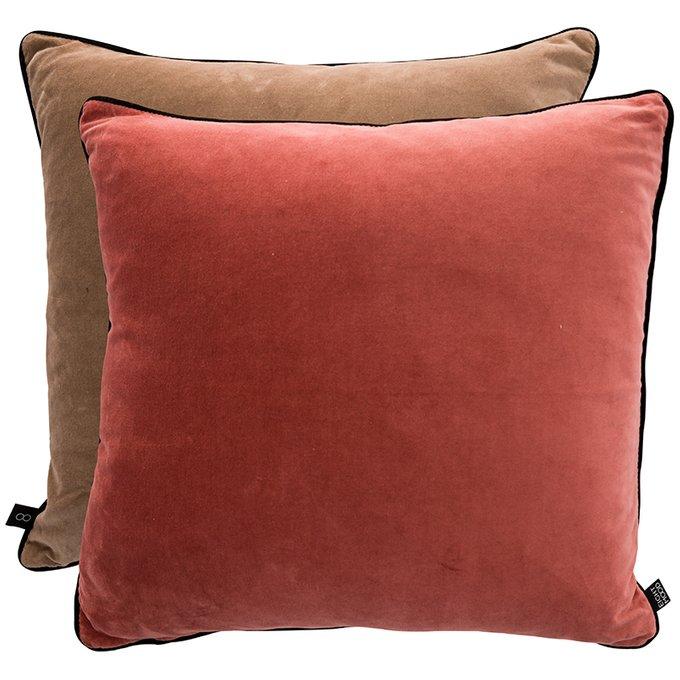 Двусторонняя подушка Duo из бархата