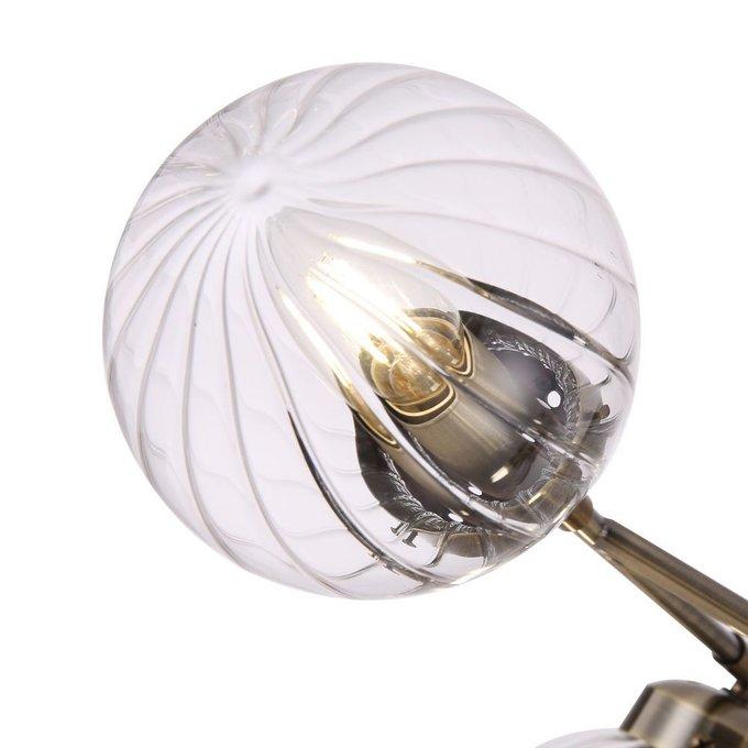 Потолочная люстра Daisy с плафонами из стекла