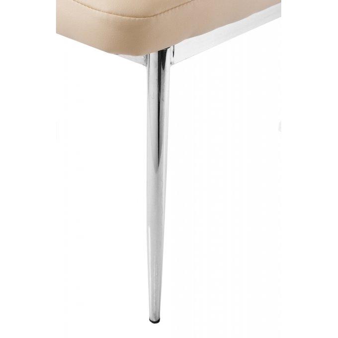 Обеденный стул бежевого цвета
