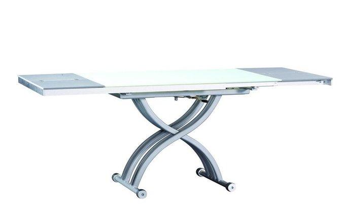 Журнально-обеденный стол с регулировкой высоты