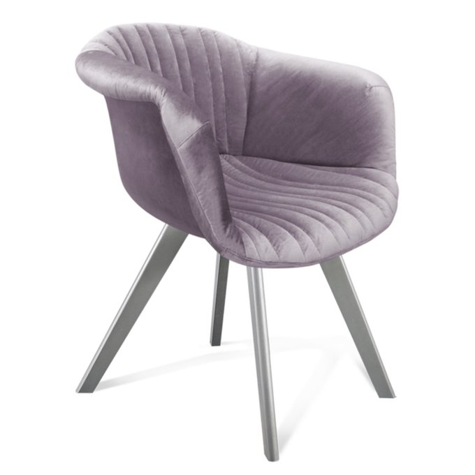 Кресло Sandro лавандового цвета
