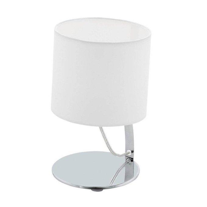 Настольная лампа Nambia 1 белого цвета