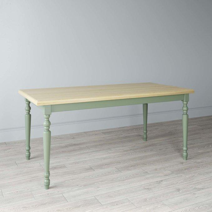 Стол обеденный New Classic с белым подстольем