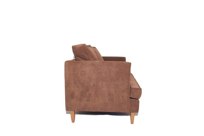 Двухместный диван Randall S коричневого цвета