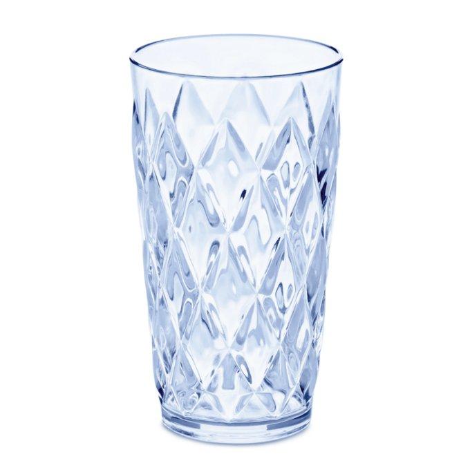 Стакан Crystal l голубого цвета