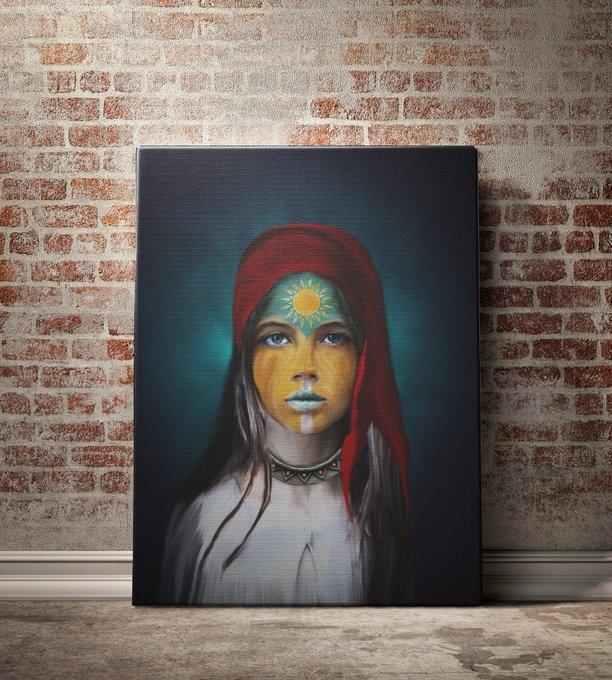 Картина The Ra by Riza Peker