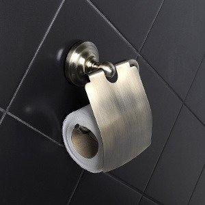 Держатель для туалетной бумаги закрытый  Retro