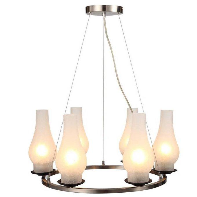 """Подвесная люстра ARTE LAMP """"Lombardy""""  в кантри-стиле"""