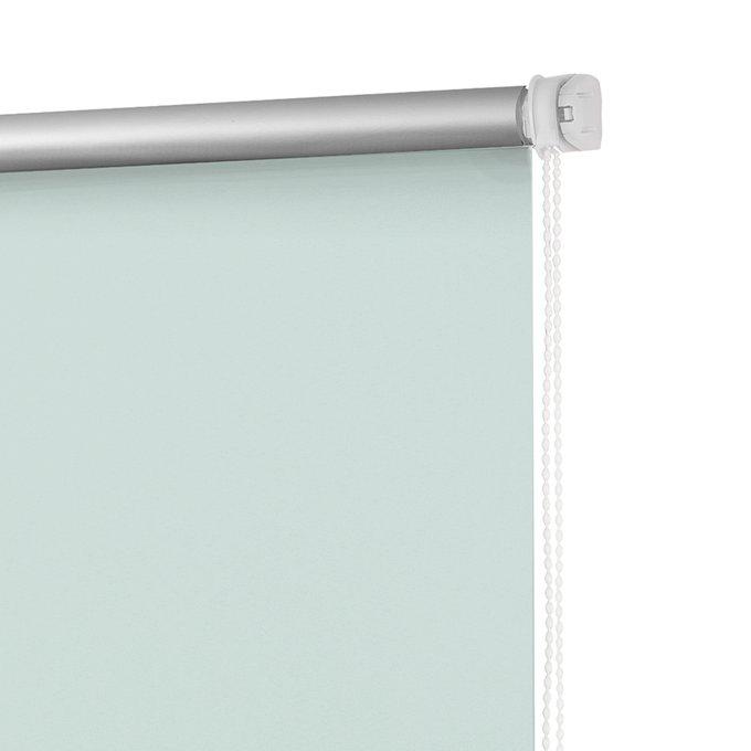 Рулонная штора Миниролл Блэкаут Свежая мята 50x160