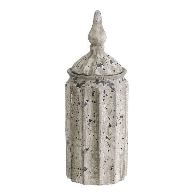 Ваза с крышкой из керамики